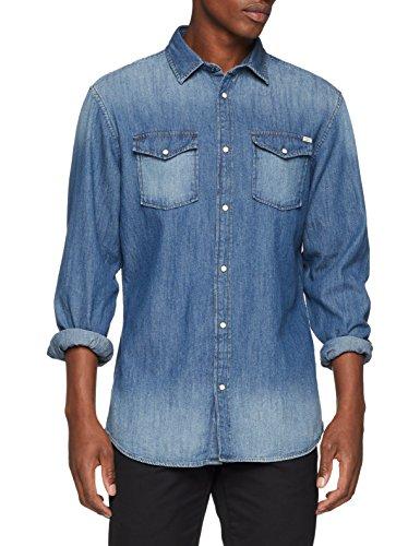 Jean Jackamp; Denim Shirt Fit Homme Jjesheridan Blue L slim sChemise En Jones Bleudark YD2E9eWHI
