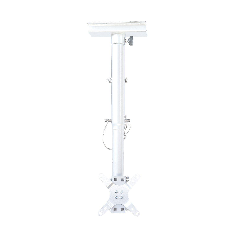 テレビ 天吊り 金具 STARPLATINUM 液晶 TV モニター TVセッターハング VS28 13-32インチ対応 ホワイト  ホワイト B07289KRYS