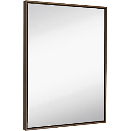 Amazon.com: Hamilton Hills Clean Large Modern Copper Frame Wall ...