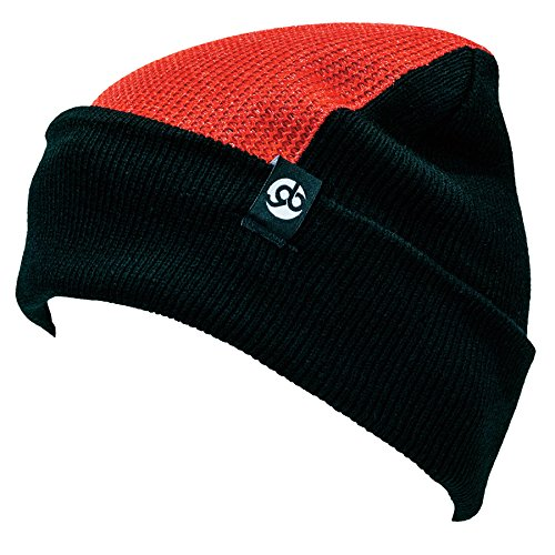 (Generation BBOY Padded Headspin Beanie Elite - The Almighty Bboy Spin Cap (Red/Black))