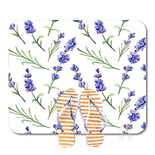 Bathroom Rugs for Bath Mat with Lavender Flowers Provence Herbs, Non Slip Bath Rug Velvet Foam Bathroom mat for Shower Floors 15.7X23.6Inch -