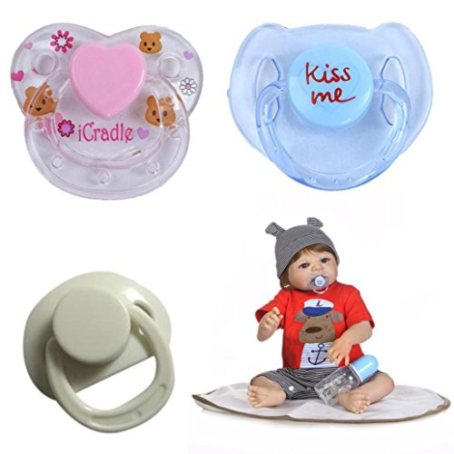 Dirance Reborn Doll Accesories Magnetic Pacifier Nipple Kids