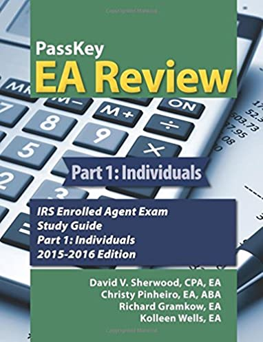 amazon com passkey ea review part 1 individuals irs enrolled rh amazon com a+ exam study guide pdf irs enrolled agent exam study guide pdf 2018
