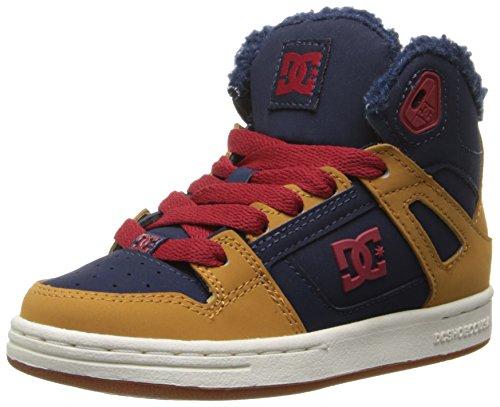 DC Universe Rebound Hi - Zapatillas de skateboarding para niños Blue/Red