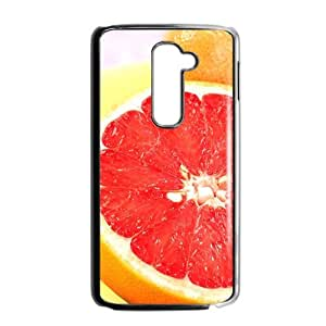 Fresh Red Pomelo nature style fashion phone case for LG G2