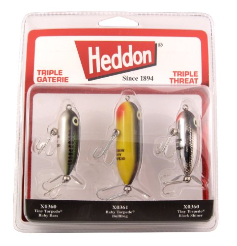 Heddon Triple Threat - Baby Bass 3/8 Oz