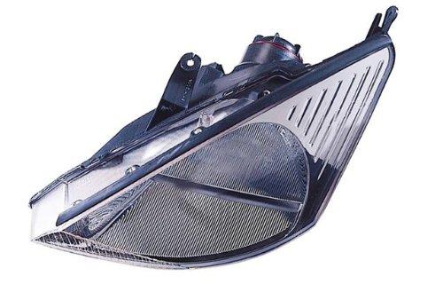Headlights Svt Focus - Ford Focus (SVT) Replacement Headlight Assembly (Black Bezel) - 1-Pair
