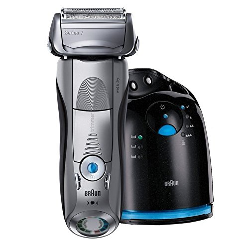 Braun Men's Series 7-797CC Cordless Wet and Dry Multi-Angled Pulsonic Shaver, 2.5 Pound by Braun