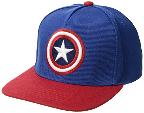 Marvel Men's Captain America 3D, Royal, One (America Fabric Ball)