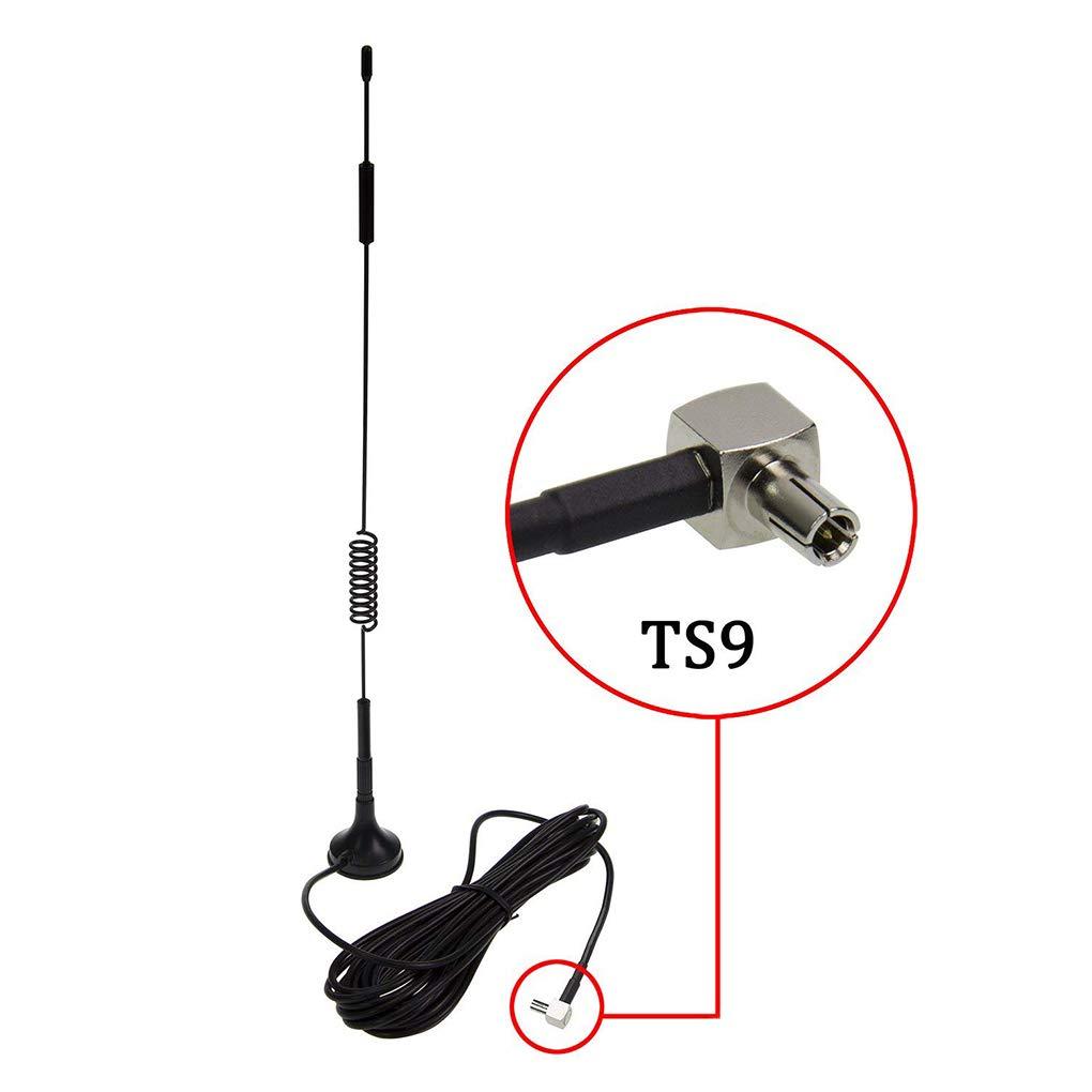 7dBi im/án Antena 4G LTE CPRS gsm WiFi 2.4G Amplificador de se/ñal de la Antena del m/ódem Compatible para Amplificador Pandiki