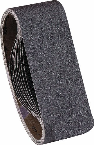 United Abrasives/SAIT 58190 AOX 4 X 24 24 Grit Blue Line Sanding Belt, 5-Pack