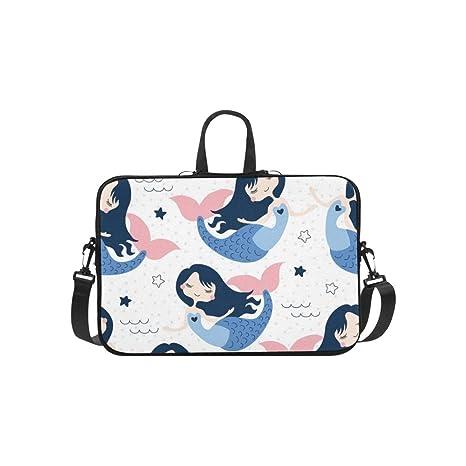 Hermosa Sirena niña maletín Bolsa de Ordenador portátil ...