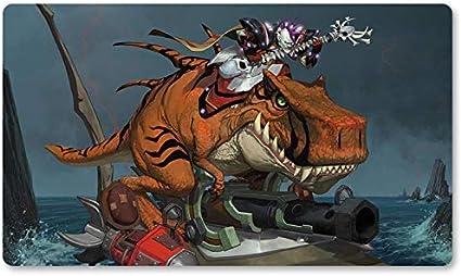 Warcraft134 – Juego de mesa de Warcraft tapete de mesa Wow juegos teclado Pad Tamaño 60 x 35 cm World of Warcraft Mousepad para Yugioh Pokemon MTG o TCG: Amazon.es: Oficina y papelería