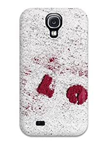 Perfect Fit PvHCEsU19823JzNAg Red Heart In White Background Case For Galaxy - S4