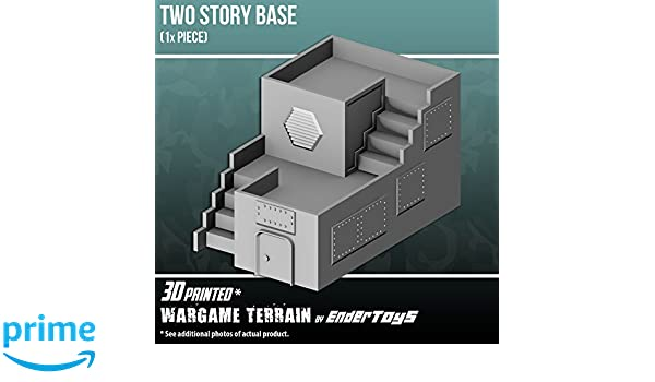 Two Story Base, Terrain Scenery for Tabletop 28mm Miniatures ...