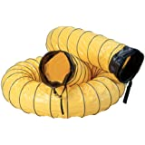"Air Systems SVH-15 8"" Diameter 15' Standard Vinyl Hose Duct"