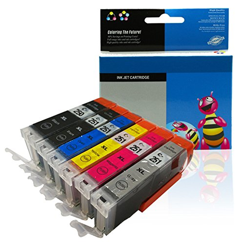 Studyset Compatible Ink Cartridge Replacement fo Canon MG6420/MG6620 IP7220/MX722