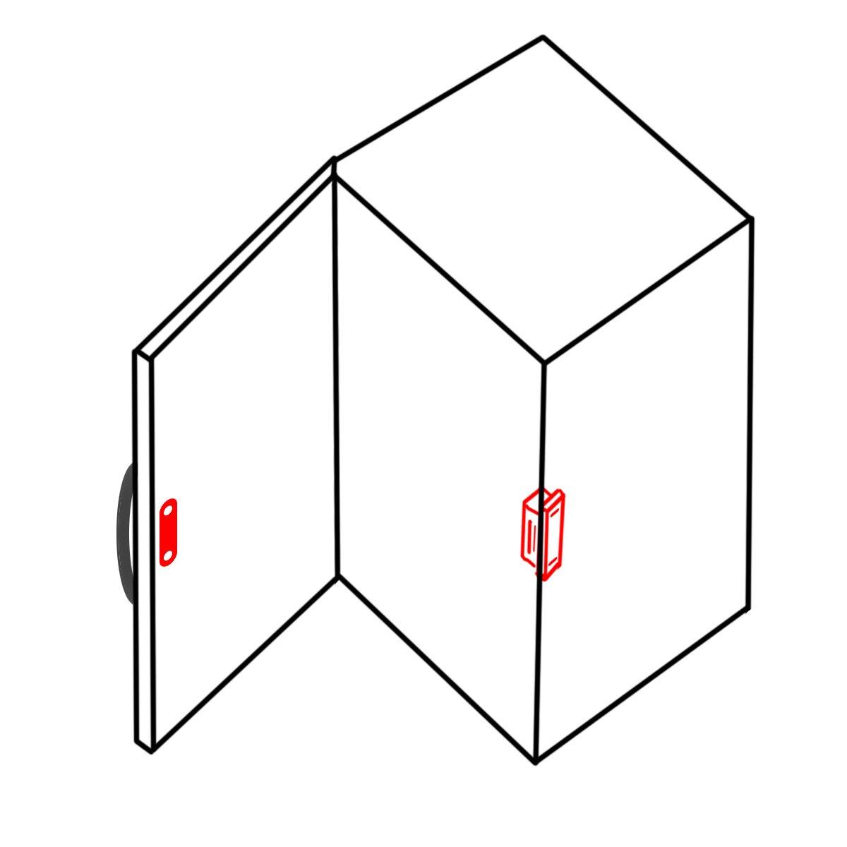 20 6 kg Magnet Verschluss Stark T/ür T/ürtapete Schrankschloss