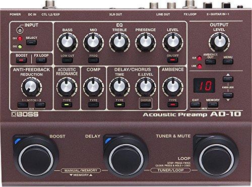 Boss AD-10 Acoustic Guitar Processor Pedal