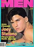 Joey Stefano l Lars Gunnarssen/Hans Mueller l Brett Williams l Vintage Gay Porn - April, 1990 Advocate Men Magazine