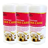 Alpha Dog Series Ear Wipes (Pack of 3)