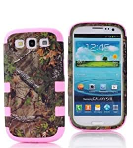 S3 case, Galaxy S3 hard, Kaseberry Carryberry Luxury 3 in 1 Design Hybrid case for Samsung Galaxy S3 SIII i9300,DesignE01