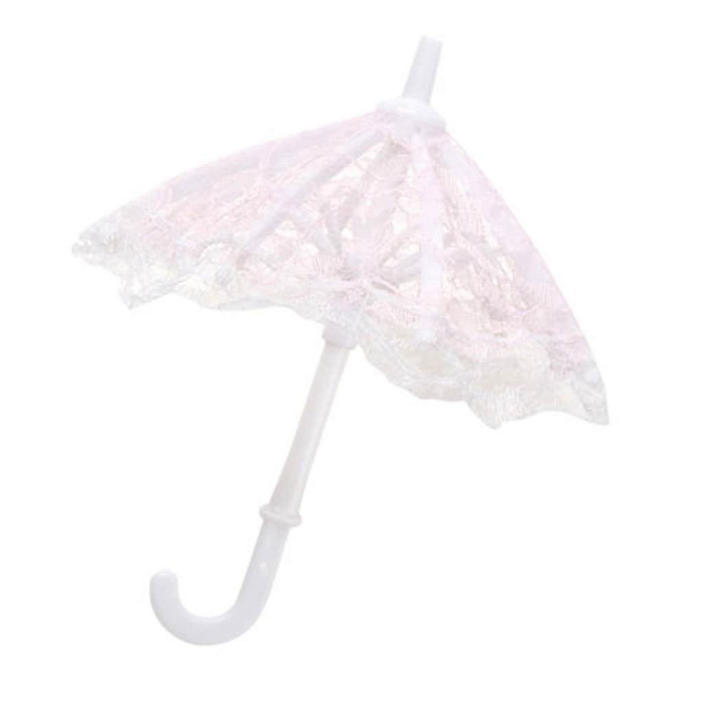 Darice 7-Inch Umbrella Baby Shower Party Decorations, 12 Pack