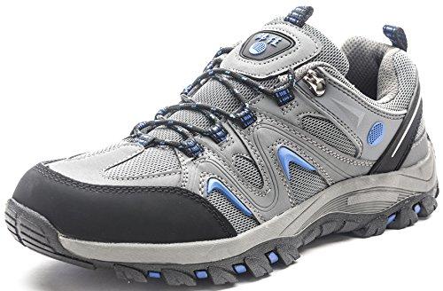 QOMOLANGMA Men's Hiking Shoes Skidproof Walking Sneaker for Running Trekking Training Climbing