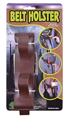 Bristol Novelty BA420 Holster Brown + Belt, Mens, One Size
