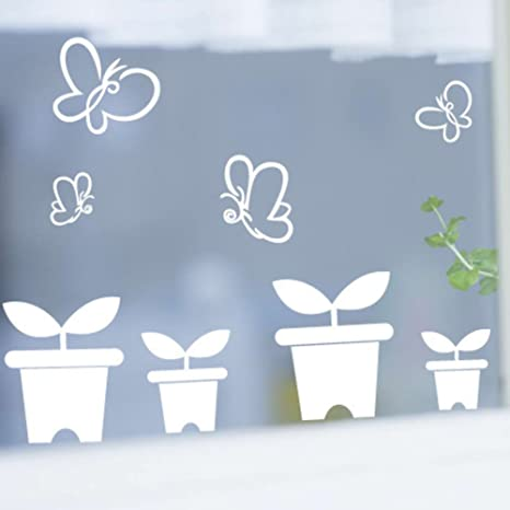 Amazon Com Little Saplings In The Spring Window Sticker Mother And