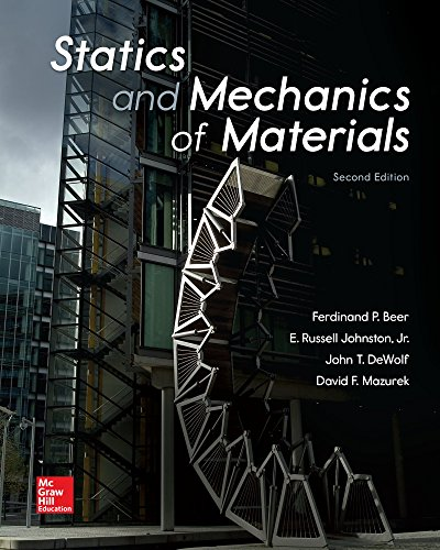 Statics and Mechanics of Materials cover