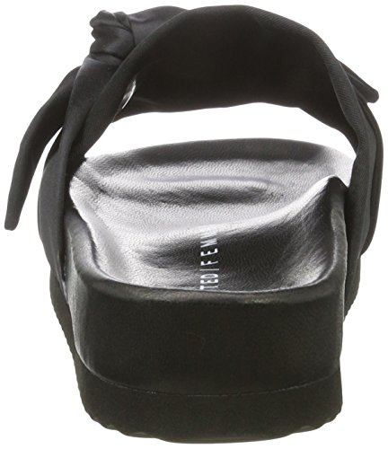 Black Black Black Slider Ausgewählte Sfadlene Damen Open Sandals 4cwHzRT8vq