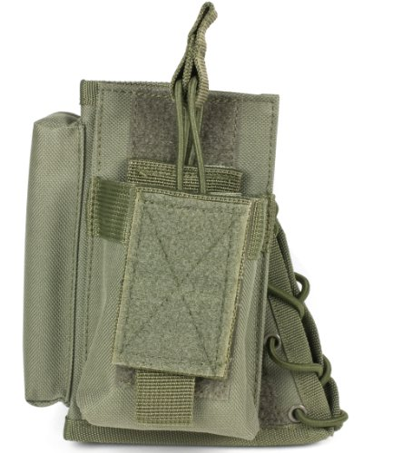 VISM by  NcStar Stock Riser with Mag Pouch, Green