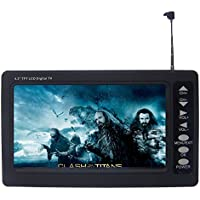 [NEW VERSION] Chaowei DTV530 Portable 4.3 Digital TV with ASTC Tuner,TFT LCD and Magnetic Base Antenna - Black