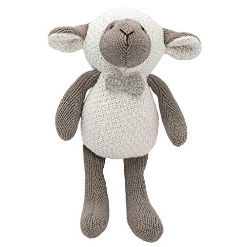 Elegant Baby Lamb Crochet Toy, 9