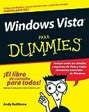 Windows Vista para Dummies, Andy Rathbone, 0470174420