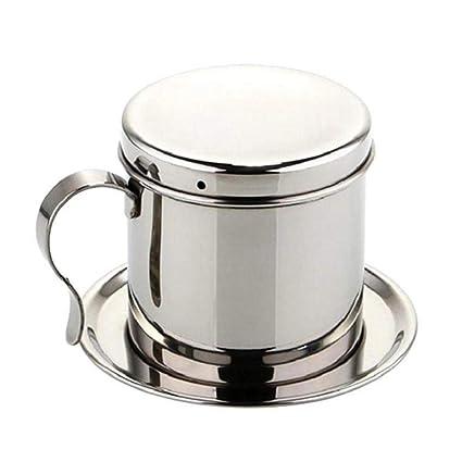Tipo de filtro de la máquina del café del filtro del pote del café del acero