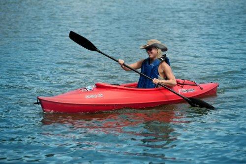 SUNDOLPHIN Sun Dolphin Aruba Sit-in Kayak (Red, 10-Feet)