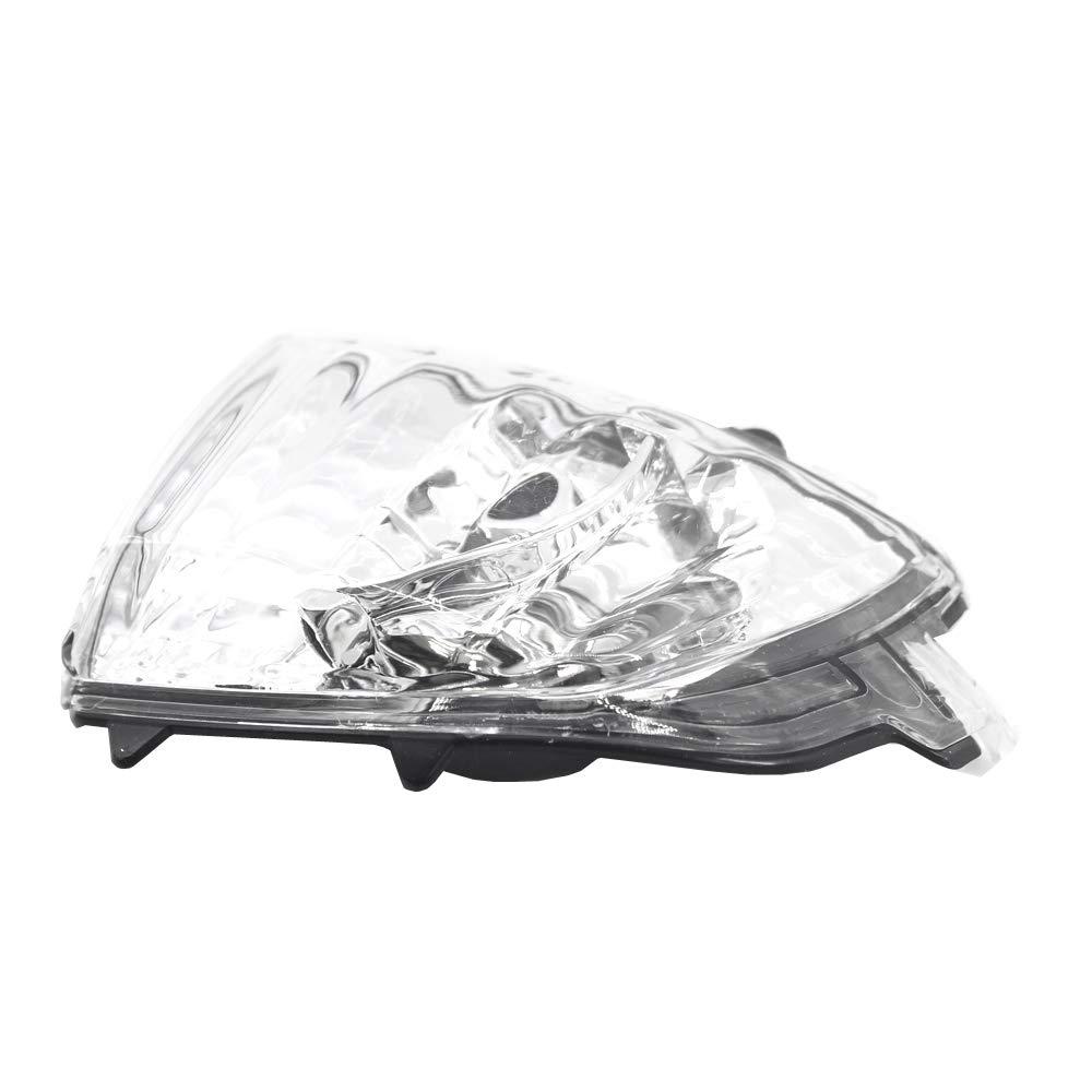 SODIAL Mirror Indicatore Luminoso 31111813 per Xc70 Xc90 2007-2014 Sinistra Specchietto Retrovisore Specchietto Indicatore di Direzione Luce Lampada Angolare Lente