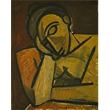 Canvas Prints Of Oil Painting ' Repose ' , 18 x 23 inch / 46 x 58 cm , High Quality Polyster Canvas Is For Gifts And Hallway, Home Theater And Nursery Decoration, how to print