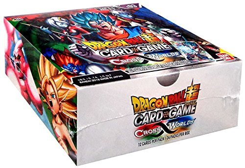 DRAGON BALL SUPER SERIES 3 CROSS WORLDS TCG BOOSTER BOX