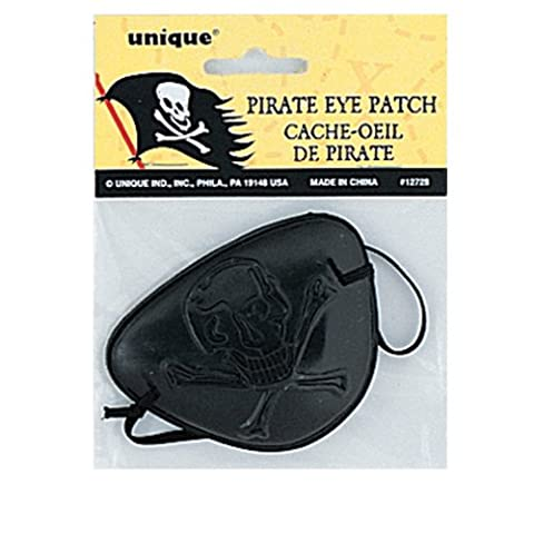Plastic Pirate Eye Patch