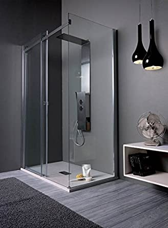 Mesa 6911831PH mampara de ducha 117 – 120 X 77 – 80 H 2 MT Cristal ...