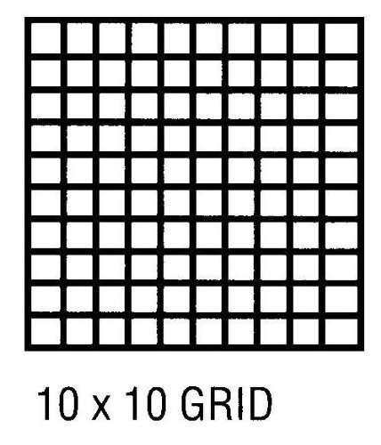 graphic about 10x10 Grids Printable named : Alvin CP10103140 Grid Vellum 30 X 50 Yds 10x10