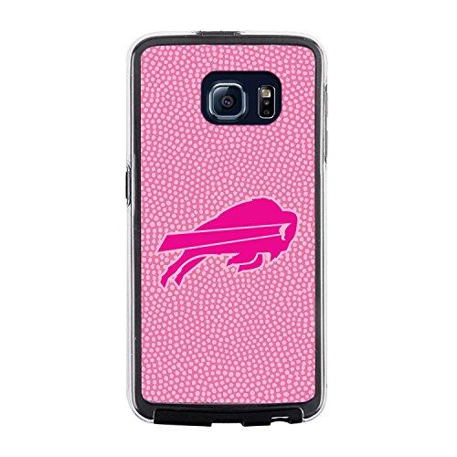 Display Case Buffalo Football (NFL Buffalo Bills Football Pebble Grain Feel No Wordmark Samsung Galaxy S6 Case, Pink)