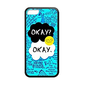 Black, 5C Case - The Beatles - The Fault In Our Stars Okay Okay Photo Design Durable Rubber Tpu Silicone Case Cover For Apple iPhone 5C