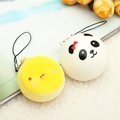 Squishy Toys Made In Usa : 12PCS Random Squishy Toy Soft Kawaii Cute Bread Bun Phone Key Chain Charms With Rope Toy in ...