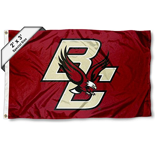 Boston College Eagles 2x3 Foot Flag