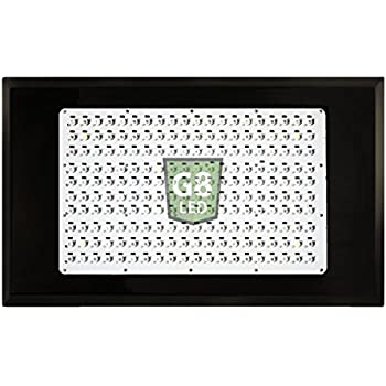 G8LED 600 Watt MEGA LED Grow Light with Optimal 8-Band plus Infrared (IR) and Ultraviolet (UV-B)