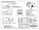 SSC Controls G502-MO Foot